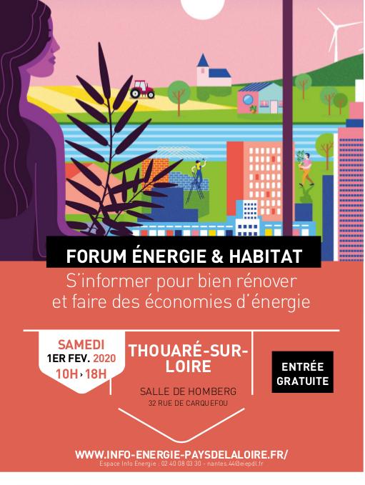 Forum Énergie et Habitat à Thouaré